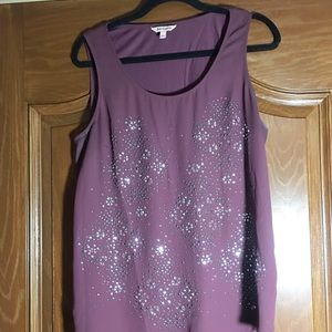 Juicy Couture Tops - Juicy Couture ladies tank with bling size large
